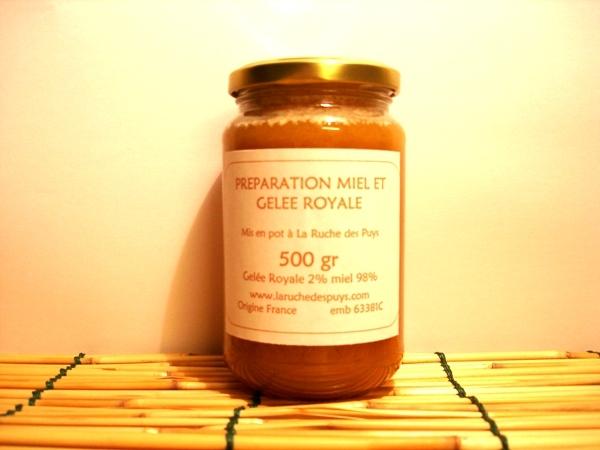Gelée Royale au miel 500g