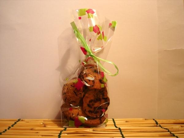 Cookies au miel et chocolat