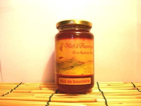 Miel de Bourdaine 500g