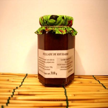 Miellade Rhubarbe grand