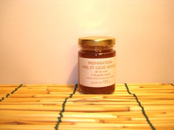 Gelée Royale au miel 125g