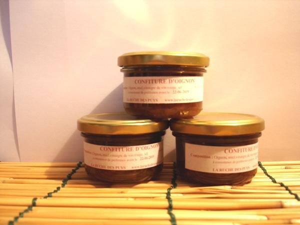 Confiture d'oignon au miel